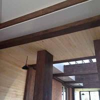 Деревянные колонны монтаж