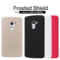 Чехол Nillkin Super Frosted Shield для Lenovo Vibe X3 Lite (A7010) / K4 Note (+ пленка)