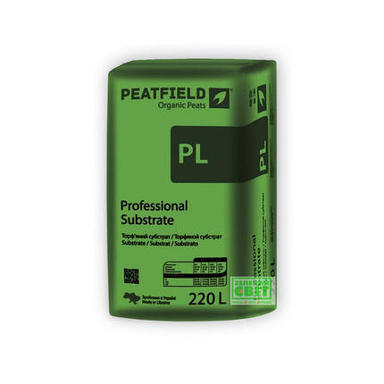 Торфяной субстрат Peatfield EXPERT  PL-1, фракция 0-5 мм, 220 л — выращивание рассады и цветов, фото 2
