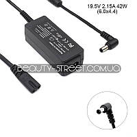 Блок питания для ноутбука Sony VAIO VPC-W21S1R/T 19.5V 2.15A 42W 6.0x4.4 (B)