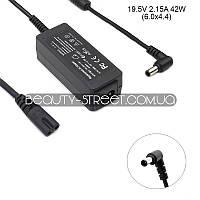 Блок питания для ноутбука Sony VAIO VPC-W11S1R/T 19.5V 2.15A 42W 6.0x4.4 (B)