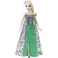 Кукла Эльза поющая Disney Frozen Fever Singing  Elsa   Оригинал Mattel