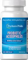 Puritan's Pride Probiotic Acidophilus 100capsules