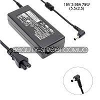 Блок питания для ноутбука Toshiba Satellite 1100-S101, 1110-S153, 1110-SP153 19V 3.95А 75W 5.5x2.5 (B)