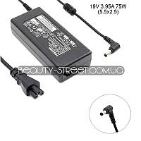 Блок питания для ноутбука Toshiba Satellite 1115-S123, 1115-SP153 19V 3.95А 75W 5.5x2.5 (B)