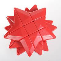 Звезда Рубика механическая головоломка красная, желтая, синяя