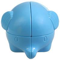 Слоник Рубика механическая головоломка синяя