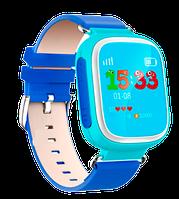 Етские часы Smart watch Q80 оригинальные, синие, голубые