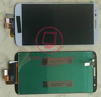 Дисплей модуль LG D800 D801 803 VS980 G2 в зборі з тачскріном, білий