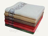 Полотенца махровые жаккардовые 70х140