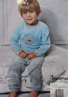 Очень красивый велюровый модный детский костюмчик для ребенка мальчика