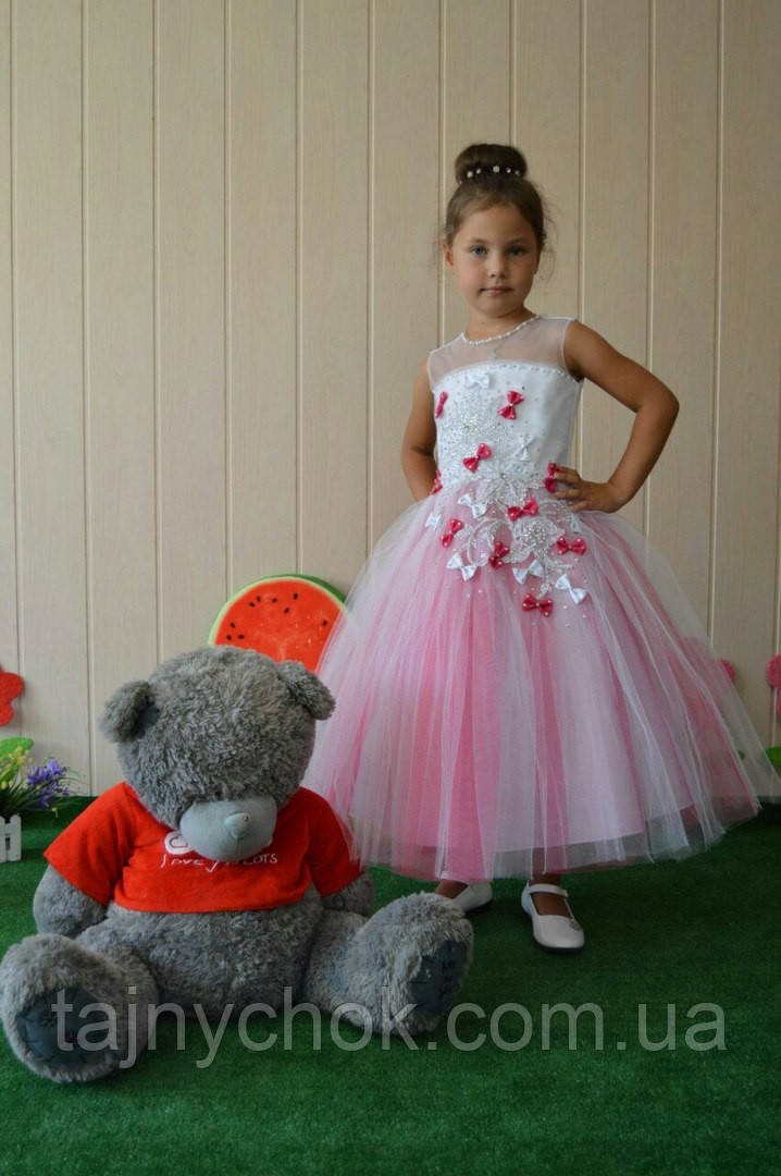 Платье бантики