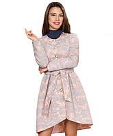Пальто неопреновое розового цвета