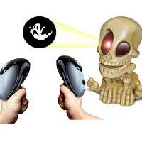 Динамичная интерактивная игра Johnny the Skull с 2 пистолетами Fotorama  Скелетончик Джони