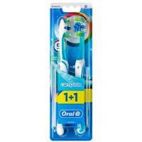 Зубная щетка Oral-B Комплекс Пятисторонняя чистка средняя 1 шт + 1 шт бесплатно (3014260022525)