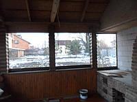 Окна ПВХ на веранду с. Стещино
