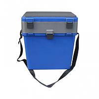 Ящик для зимней рыбалки Тонар (Синий)