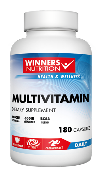 Winners Nutrition MultiVitamin 180caps