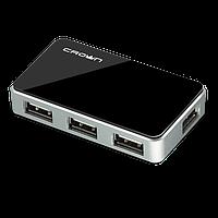 USB Хаб Crown CMH-B19 4 порта Black