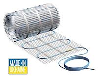 Тёплый пол — двужильный нагревательный мат Profi Therm Eko mat, 1650 Вт, площадь обогрева 11,0 м²