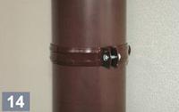 Держатель трубы пластиковый L-100