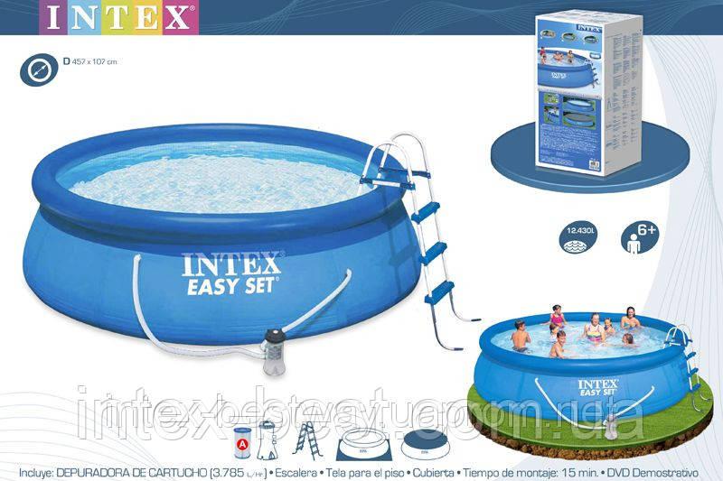 Надувные бассейны Intex 56409 (457х107см)