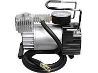 Миникомпрессор автомобильный 12В, 11бар, 40л/мин, набор адаптеров (3шт) Miol E-81-115
