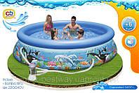 Надувной бассейн Intex Ocean Reef Easy Set Pool 54906 (366х76 см. ), фото 1