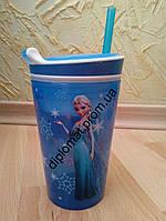 Стакан непроливайка Frozen