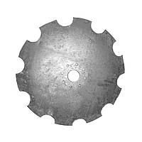 Диск КНГ- вирізний, 6 мм. Круг 66 650 мм. (АГ-2,0, АГ, УДА, АГД культиваторів і борон), фото 1