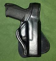 Поясная кобура Safariland (Glock, Форт-17) кожа. USA, оригинал.