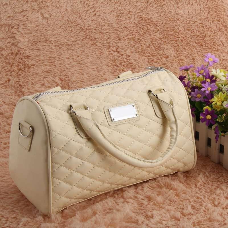 Женская сумка Mango бежевого цвета