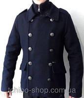 Шикарные мужские шерстяные демисезонные итальянские пальто Urban Ring M, L размер