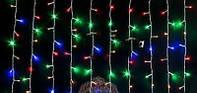 Новогодняя гирлянда бахрома светодиодная 220 LED, 3 м, фото 1