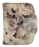 Оригинальный надежный женский кожаный лаковый кошелек высокого качества H.VERDE art.2319T-D99 разные цвета
