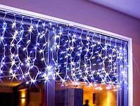 Мультицветная гирлянда led бахрома 300 лампочек, длина 3 м, фото 1
