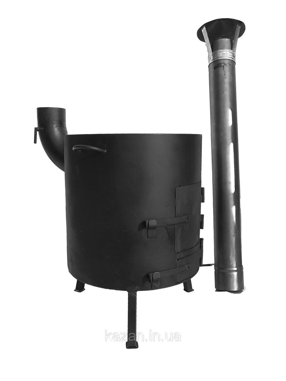Печка для казана с поддувалом в диаметре 400мм