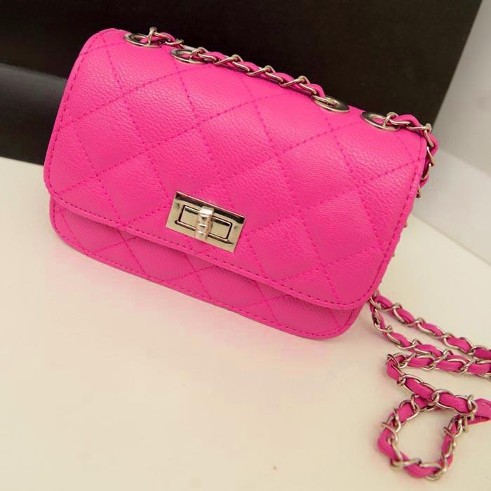 83ab483c7a09 Женская сумка клатч Chanel розового цвета, цена 280 грн., купить в ...
