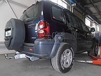 Фаркоп Jeep Cherokee 2001-2008 оцинкованный Galia