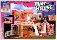 """Домик """"Gloria"""" с мебелью,3 комнаты, в кор.32,5*23,5*14см"""