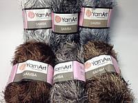 Пряжа для вязания samba YarnArt / самба (травка) ярнарт