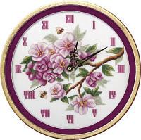 """Набор для вышивки крестом """"Panna"""" Часы. Цветут сады Ч-1579"""