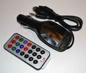 FM- модулятор A3 (AUX+micro+iP5)*2002