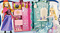 Frozen Мега-набір Гардероб Анни та Ельза  (Эльза и Анна набор Гардеробная Холодное сердце)