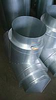 Тройник 90° для дымохода 1 мм нерж/оц.