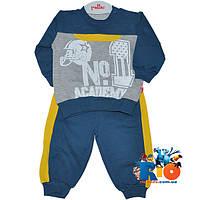 """Трикотажный детский костюм """"Number One"""" , для мальчика (68-74-80-86 см)"""