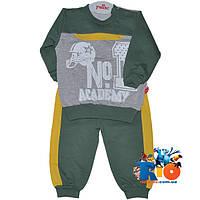 """Трикотажный детский костюм """"Number One"""" , для мальчиков (68-74-80-86 см)"""