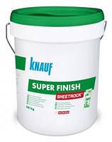 Knauf  Пастообразная шпаклевка super finis (sheetrock) 28 кг