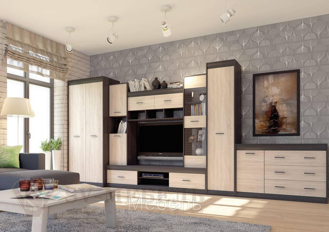 Гостиная Гамма 19 ф-ка SV Мебель(наборка 3)