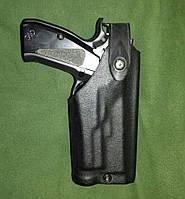 Пластиковая поясная кобура Safariland для пистолета с ЛЦУ/фонарем. USA, оригинал.